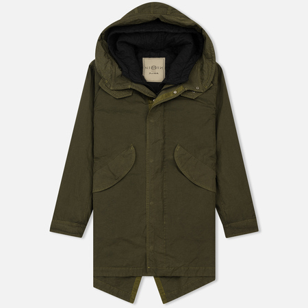 Мужская куртка парка Nemen Fishtail Stark 3/1 Lime