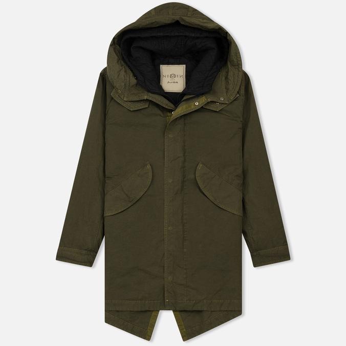 Мужская куртка парка Nemen Fishtail Stark 3/1 Lime NMN_I17148_083