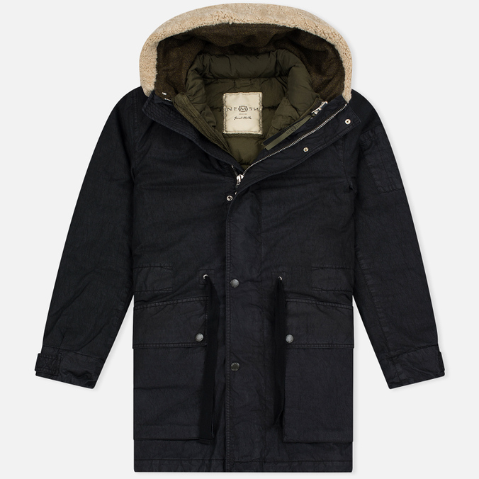 Мужская куртка парка Nemen Foul Weather Ink Black/Dark Olive