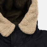 Мужская куртка парка Nemen Foul Weather Ink Black/Dark Olive фото- 4