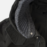 Мужская куртка парка Nemen Knit Hood Band Fishtail Charcoal фото- 2