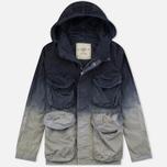Мужская куртка парка Nemen Multipocket Light Grey/Blue Demin фото- 0