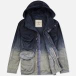 Мужская куртка парка Nemen Multipocket Light Grey/Blue Demin фото- 2