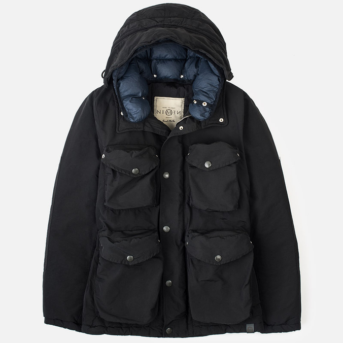 Nemen Multipocket Men's Parka Smock Asphalt