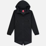 Мужская куртка парка Nike Modern Hooded Down Fill Black фото- 0