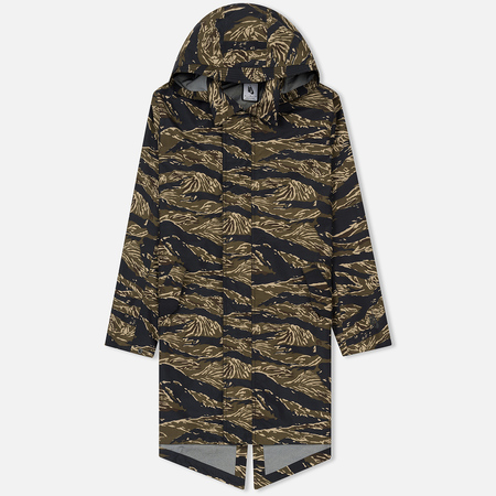 Мужская куртка парка Nike NikeLab Tiger Camo AOP Khaki/Golden Beige/Gorge Green/Black