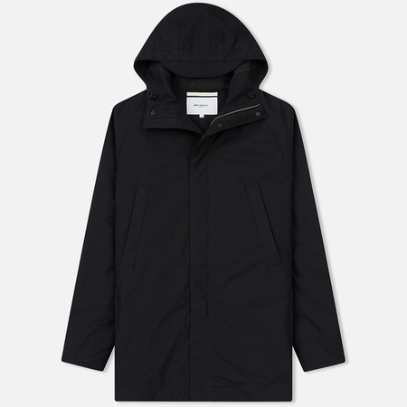 Мужская куртка парка Norse Projects Lindisfarne Cambric Black
