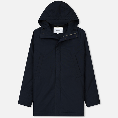 Мужская куртка парка Norse Projects Lindisfarne Cambric Dark Navy