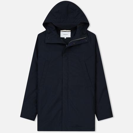 Мужская куртка парка Norse Projects Lindisfarne Cambric Dark Navy