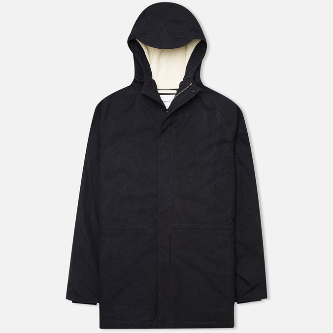 Мужская куртка парка Norse Projects Lindisfarne Classic Dark Navy