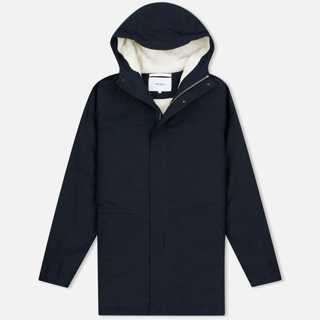 Мужская куртка парка Norse Projects Lindisfarne Classic Navy