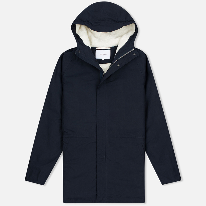 Мужская куртка парка Norse Projects Lindisfarne Classic Navy