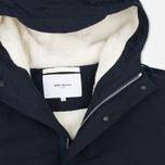 Мужская куртка парка Norse Projects Lindisfarne Classic Navy фото- 2