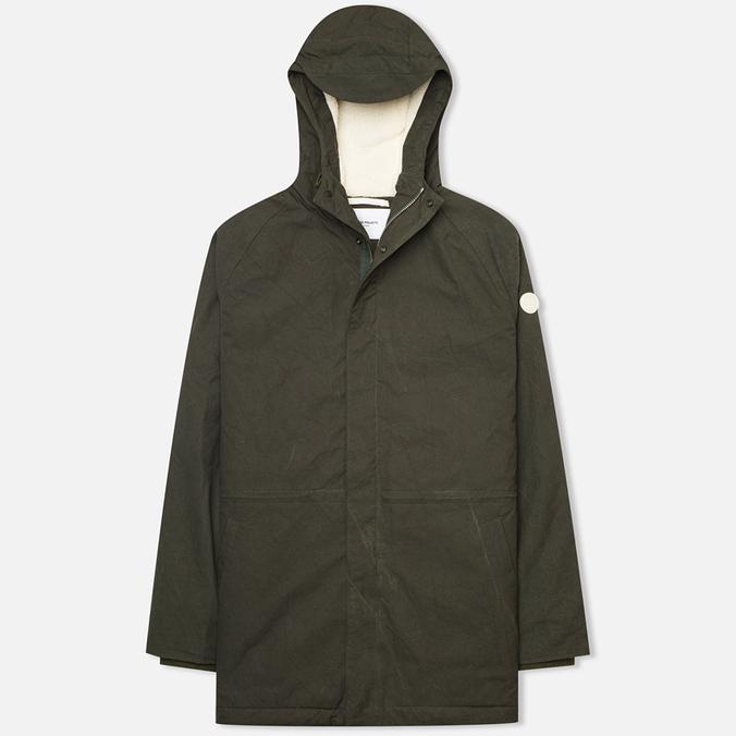 Мужская куртка парка Norse Projects Lindisfarne Classic Rosin Green