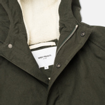 Norse Projects Lindisfarne Classic Men's Parka Rosin Green photo- 2