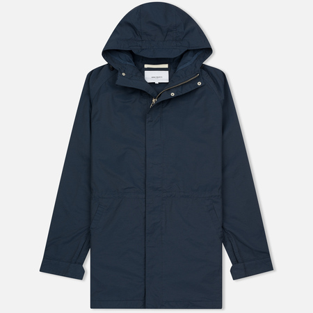 Мужская куртка парка Norse Projects Lindisfarne Summer Navy
