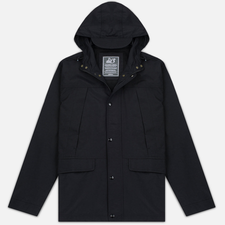Peaceful Hooligan Kick Men's Parka Black