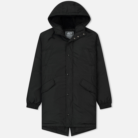 Мужская куртка парка Peaceful Hooligan Stockbridge Black