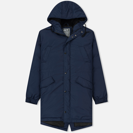 Мужская куртка парка Peaceful Hooligan Stockbridge Navy