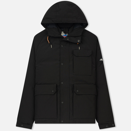 Мужская куртка парка Penfield Apex Down Insulated Detachable Hooded Black