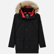 Мужская куртка парка Penfield Hoosac FF Hoodie Parka Black фото- 0