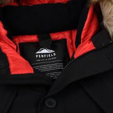 Мужская куртка парка Penfield Hoosac FF Hoodie Parka Black фото- 2