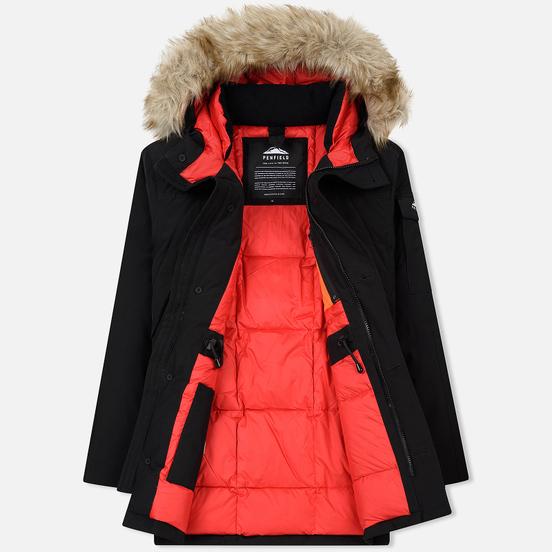 Мужская куртка парка Penfield Hoosac FF Hoodie Parka Black