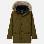 Мужская куртка парка Penfield Hoosac FF Hoodie Parka Dark Olive фото- 0