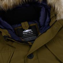 Мужская куртка парка Penfield Hoosac FF Hoodie Parka Dark Olive фото- 2