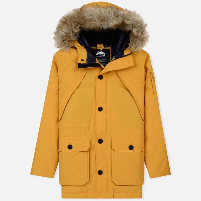 Мужская куртка парка Penfield Hoosac FF Hoodie Parka Golden Yellow
