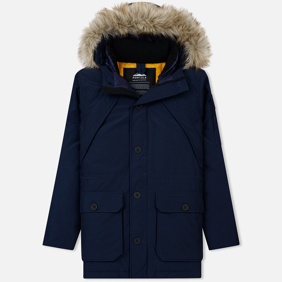 Мужская куртка парка Penfield Hoosac FF Hoodie Parka Peacoat
