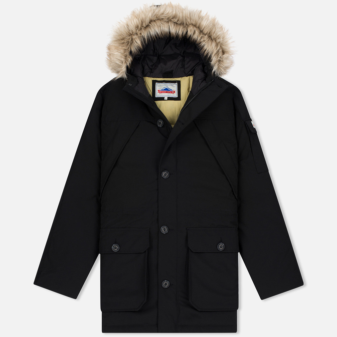 Мужская куртка парка Penfield Hoosac Hooded Down Mountain Black