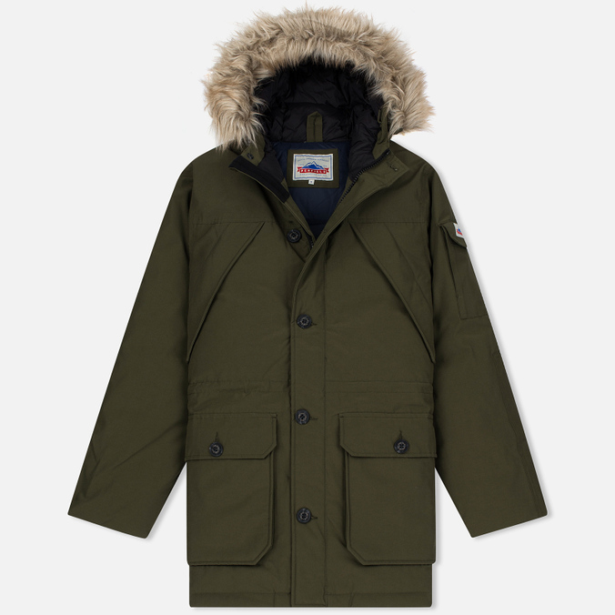 Мужская куртка парка Penfield Hoosac Hooded Down Mountain Lichen