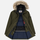 Мужская куртка парка Penfield Hoosac Hooded Down Mountain Lichen фото- 2