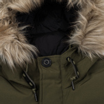 Мужская куртка парка Penfield Hoosac Hooded Down Mountain Lichen фото- 5