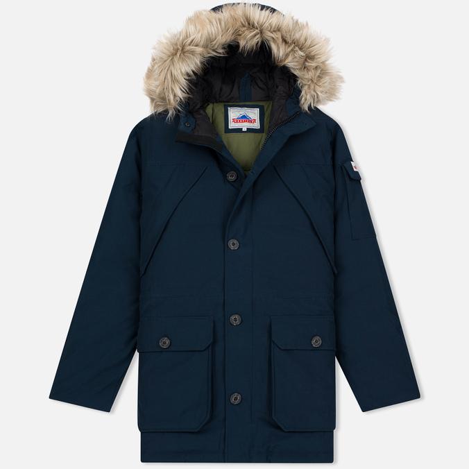 Мужская куртка парка Penfield Hoosac Hooded Down Mountain Navy