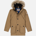 Мужская куртка парка Penfield Hoosac Hooded Down Mountain Tan фото- 0