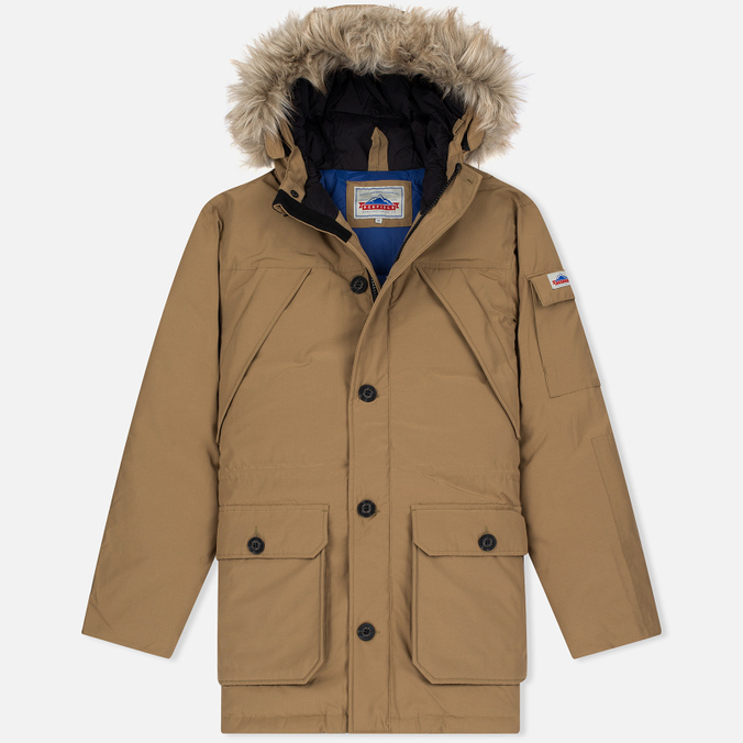 Мужская куртка парка Penfield Hoosac Hooded Down Mountain Tan