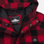 Мужская куртка парка Penfield Kasson Buffalo Plaid Red/Black фото- 1