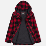 Мужская куртка парка Penfield Kasson Buffalo Plaid Red/Black фото- 2