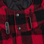 Мужская куртка парка Penfield Kasson Buffalo Plaid Red/Black фото- 3