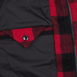 Мужская куртка парка Penfield Kasson Buffalo Plaid Red/Black фото- 4