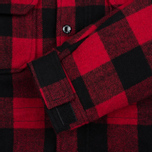Мужская куртка парка Penfield Kasson Buffalo Plaid Red/Black фото- 5