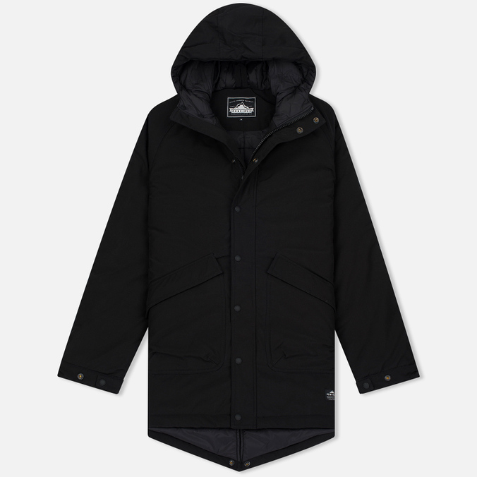 Мужская куртка парка Penfield Kingman Insulated Fishtail Black