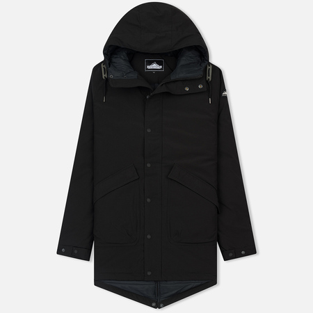 Мужская куртка парка Penfield Kingman Wadded Fishtail Black
