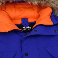 Мужская куртка парка Penfield Kirby Winter Hoodie Parka Royal Blue фото- 2
