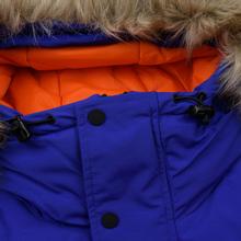 Мужская куртка парка Penfield Kirby Winter Hoodie Parka Royal Blue фото- 3