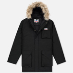 Мужская куртка парка Penfield Lexington Hooded Mountain Black фото- 0