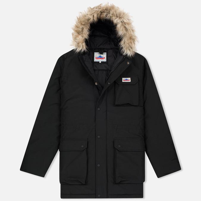 Мужская куртка парка Penfield Lexington Hooded Mountain Black