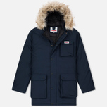 Мужская куртка парка Penfield Lexington Hooded Mountain Navy фото- 0